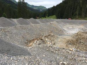 Schneiteich Gaisbühel - Baustelle